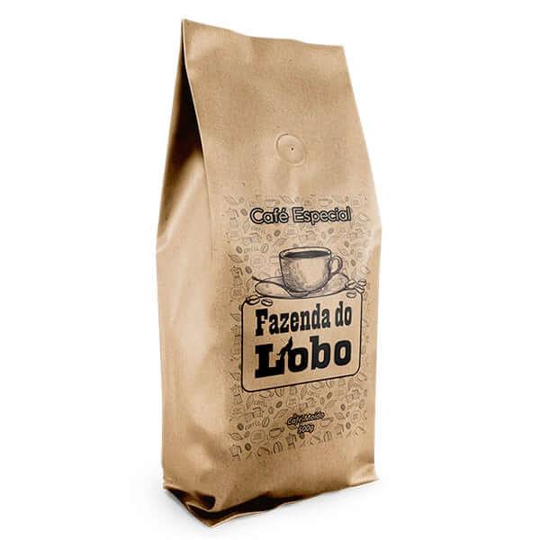 Café Especial 500g 100% Arábica Fazenda do Lobo