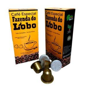 Cápsulas Nespresso de Café Especial 100% Arábica Fazenda do Lobo 10 (un.)