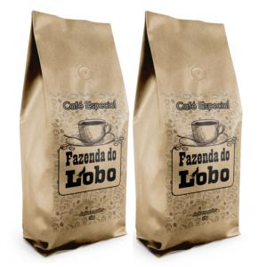 2 kg cafe em grao - Café do Lobo